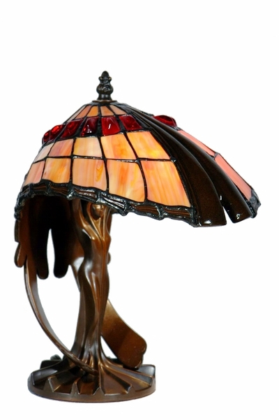 10 Inch Art Deco Flying Lady Table Lamp