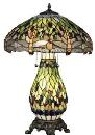 King Size Green Dragonfly Umbrella Lamp