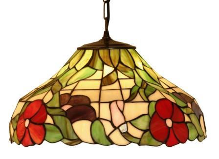 16 inch Tiffany Pendant Peonie ceiling shade