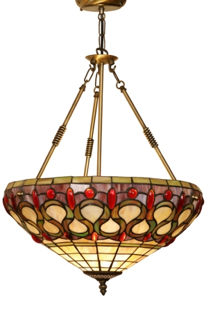 18 inch Tiffany suspended shade