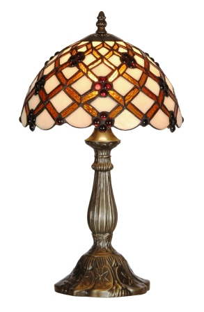 10 Inch Cream and Gold Table Lamp
