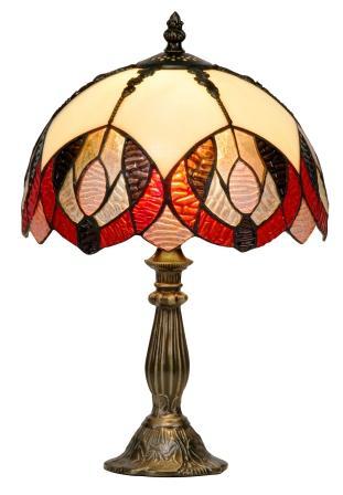 12 inch Tiffany Peacock Table Lamp