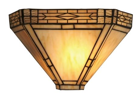 Cream Art Deco design wall light*