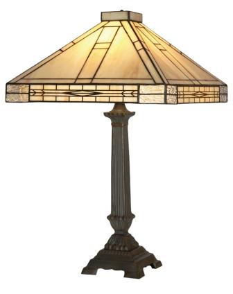 16 inch cream Art Deco design Table Lamp
