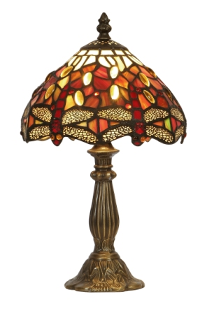 7 Inch Tiffany Dragonfly Table Lamp