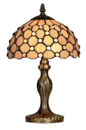 8 inch Raindrop Tiffany table lamp