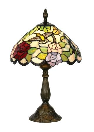 12 inch Hummingbird Table Lamp