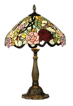 16 inch Hummingbird Table Lamp