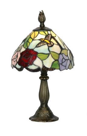 8 inch Hummingbird Table Lamp