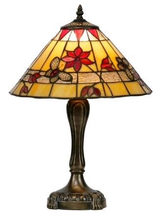 13 inch Butterfly Tiffany Table Lamp