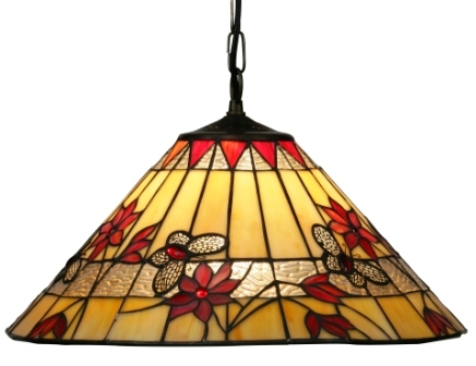 17 inch Tiffany Butterfly Ceiling Shade