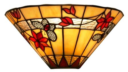 Tiffany Butterfly Wall Uplighter