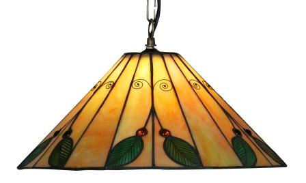 16 inch Green Leaf Pendant shade
