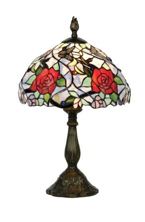 Colourful Floral 12 Inch Table Lamp
