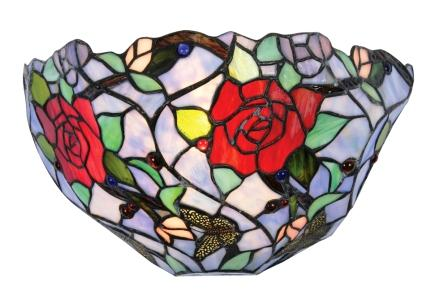 Colourful Floral Wall Light