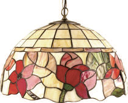 16 Inch Floral Ceiling Pendant