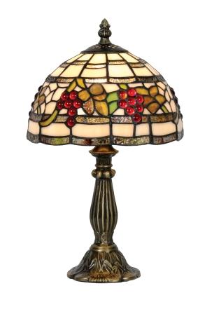 Classic 8 inch Tiffany Grape design Table Lamp