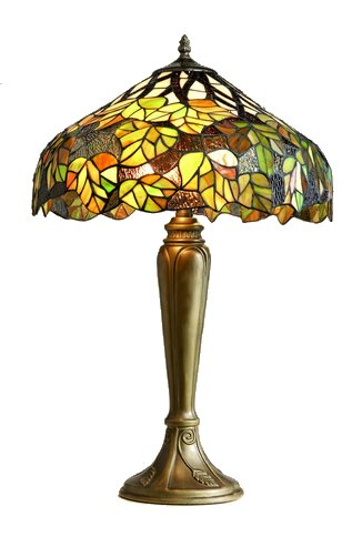 16 inch Maple Leaf design Tiffany table lamp