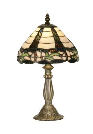 8 inch Creeper Tiffany Table Lamp