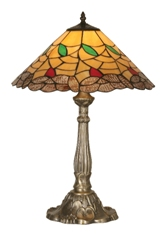 17 Inch Gold Edge Table Lamp