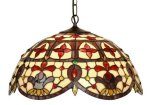 20 Inch Jewelled Elizabethan Pendant Light