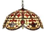 20 Inch Jewelled Elizabethan Pendant Light