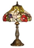 12 inch Tiffany Peonie Table Lamp