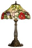 Large 16 inch Peonie Tiffany Table Lamp