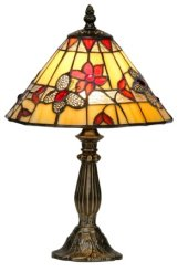 9 inch Butterfly Tiffany Table Lamp