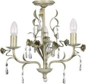 Venetian Cream and Gold Chandelier