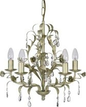 Venetian Cream and Gold Chandelier*