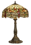 16 Inch Tiffany Dragonfly Table Lamp