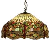 20 Inch Tiffany Dragonfly Ceiling Shade