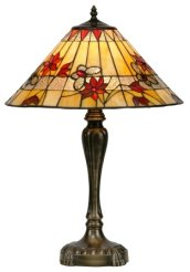 17 inch Tiffany Butterfly Table Lamp