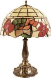 Medium 12 Inch Floral Table Lamp