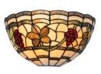 Classic Tiffany Grape design wall light